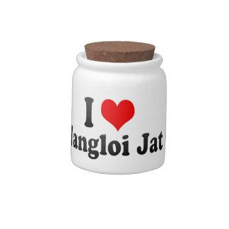 Amo el Jat de Nangloi, la India Jarras Para Caramelos