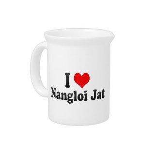 Amo el Jat de Nangloi, la India Jarrones