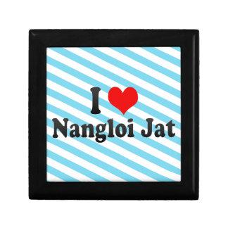 Amo el Jat de Nangloi, la India Cajas De Recuerdo