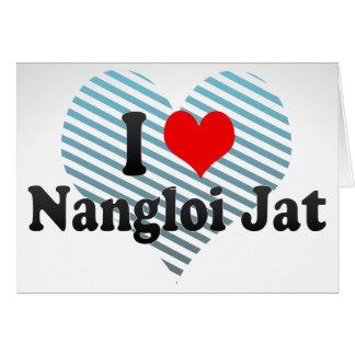 Amo el Jat de Nangloi, la India Felicitaciones