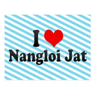 Amo el Jat de Nangloi, la India Postales