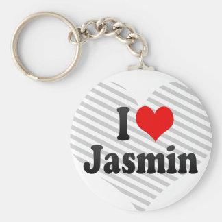 Amo el jazmín llaveros personalizados