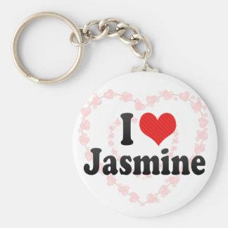 Amo el jazmín llavero
