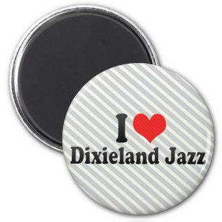 Amo el jazz de Dixieland Iman De Frigorífico
