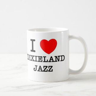 Amo el jazz de Dixieland Tazas De Café