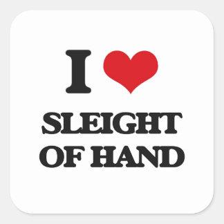 Amo el juego de mano