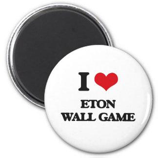 Amo el juego de pared de Eton Iman De Nevera