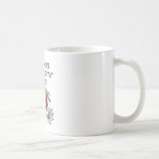amo el jugador de bolos que rueda taza de café