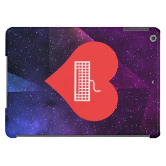 Amo el jugar de diseño de los teclados funda para iPad air