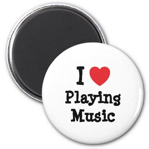 Amo el jugar del personalizado del corazón de la m iman