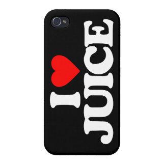 AMO EL JUGO iPhone 4 PROTECTORES