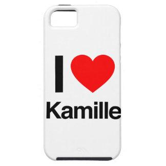 amo el kamille iPhone 5 fundas