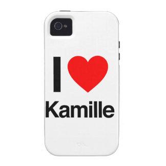 amo el kamille iPhone 4 fundas
