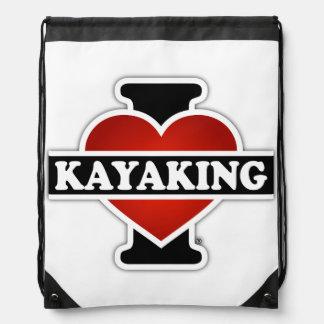 Amo el Kayaking Mochila