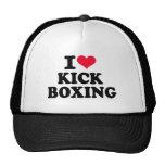 Amo el kickboxing gorro