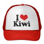 Amo el kiwi gorros bordados