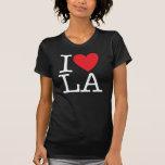 Amo el LA (blanco) Playeras