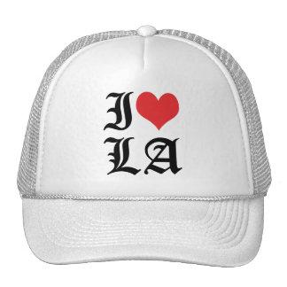 Amo el LA del corazón del LA/I/el gorra de Los Áng