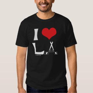 Amo el LA (el negro) Playera