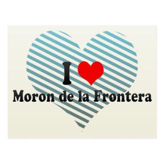 Amo el la Frontera, España del del Imbécil Tarjetas Postales