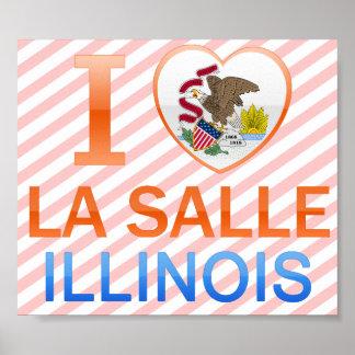 Amo el La Salle, IL Póster