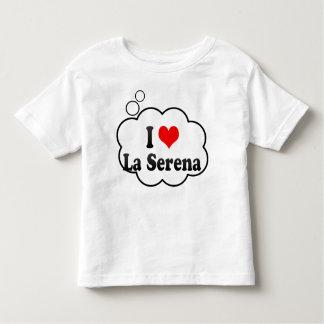 Amo el La Serena, Chile Playera De Bebé