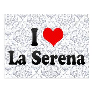 Amo el La Serena, Chile Tarjeta Postal