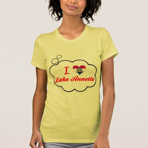 Amo el lago Annette, Missouri T Shirts