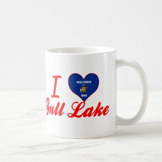 Amo el lago gull, Wisconsin Tazas De Café