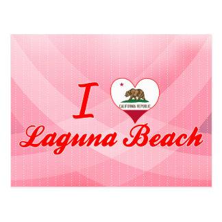 Amo el Laguna Beach, California Postales