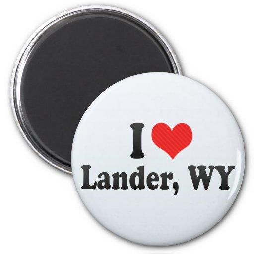 Amo el Lander, WY Imán