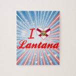Amo el Lantana, la Florida Puzzles Con Fotos