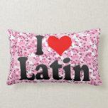 Amo el latín almohada