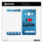 Amo el latín calcomanía para el HTC evo 4G