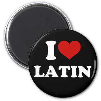 Amo el latín imanes