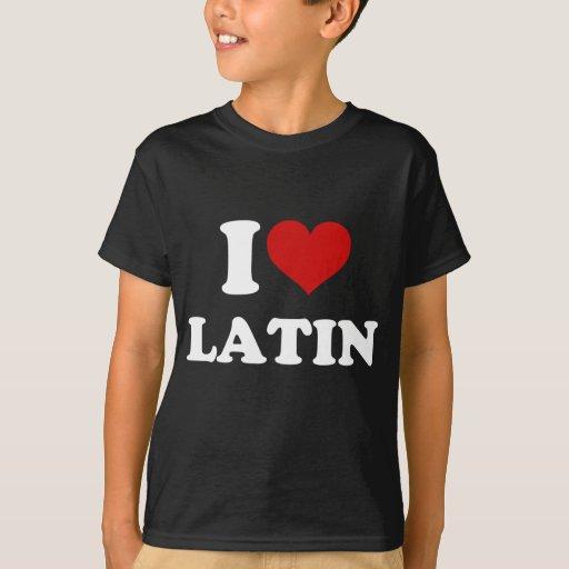 Amo el latín playera