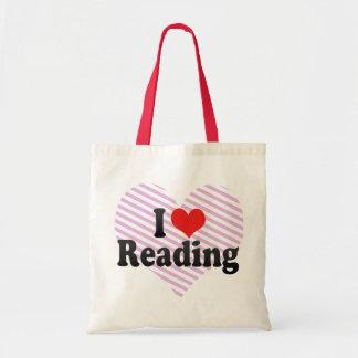 Amo el leer bolsas