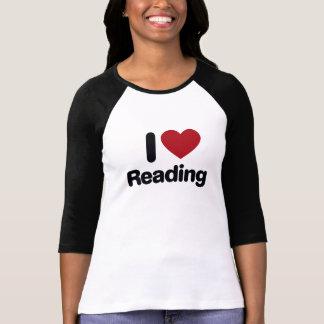 Amo el leer camiseta