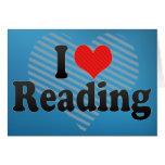Amo el leer tarjetón