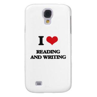 Amo el leer y el escribir funda para galaxy s4