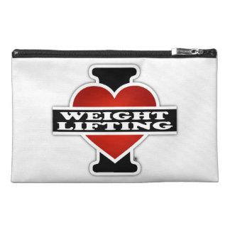 Amo el levantamiento de pesas