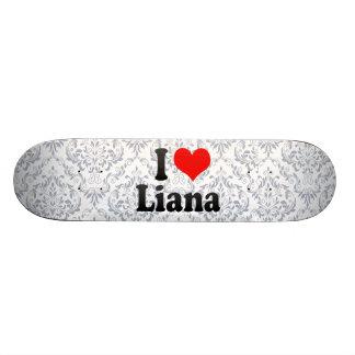 Amo el Liana Monopatines Personalizados