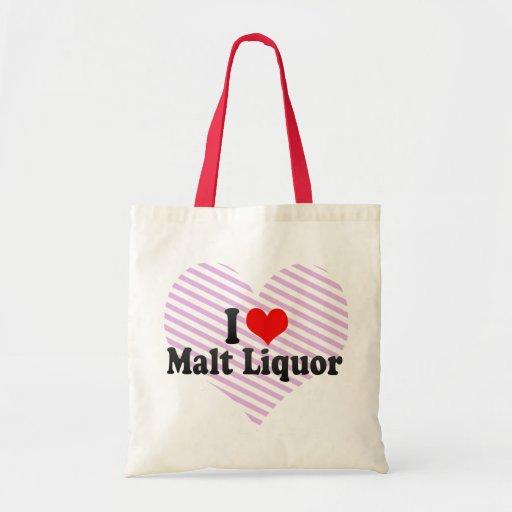 Amo el licor de malta bolsa