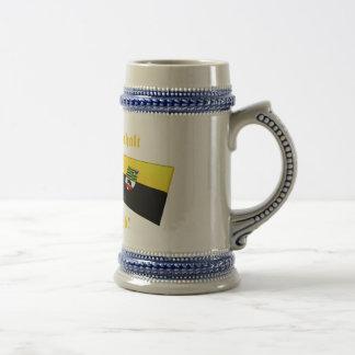 Amo el lieb de los ist MIR de Sajonia-Anhalt Taza De Café