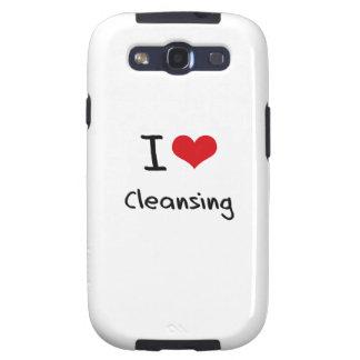 Amo el limpiar galaxy SIII protectores