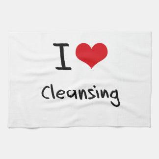 Amo el limpiar toallas de cocina