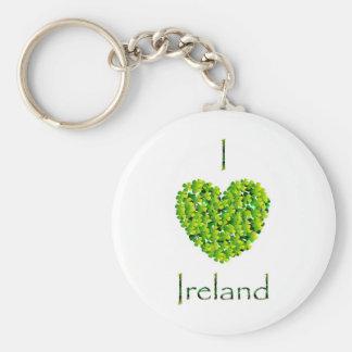 Amo el llavero de Irlanda