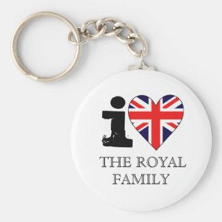 Amo el llavero de la familia real