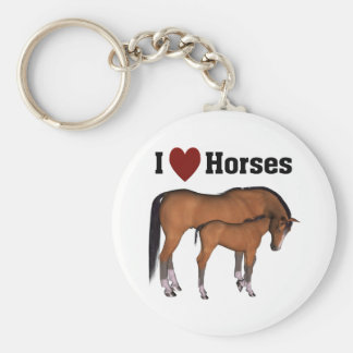 Amo el llavero de los caballos