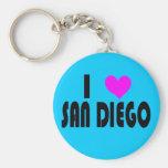 Amo el llavero de San Diego California los E.E.U.U